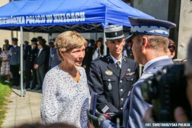 Odznaczenie francuskiego żandarma Policyjną Odznaką Zasługi im.